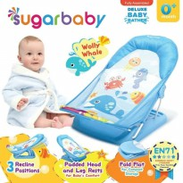 Baby Bather Sugar Baby Wolly Whale - Dudukan Tempat Mandi