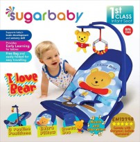 Bouncer Bayi Sugar Baby Infant Seat with Toy Bar