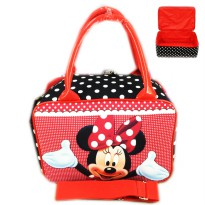 Tas Travel Kanvas MINI Minnie Mouse Polkadot