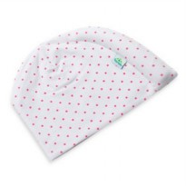 (Promo Gajian) Tortle Head Repositioning Beanie Pink Dots Large