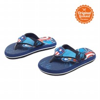 The Avengers Flipflop Captain America Navy
