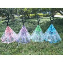 Supplier Payung Terbalik Gagang C ReverseUmbrella free bubble packing