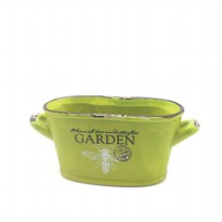 [POP UP IDEA] Tokyo 1 Pot Bunga Keramik Garden-Oval Pot (244415)