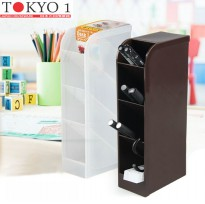 [POP UP IDEA] Tokyo 1 tempat pensil Desk Labo White (449601)