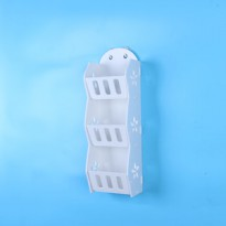 MH518 Storage Decorative Rack Shabby chic rak kosmetik hp remote dll
