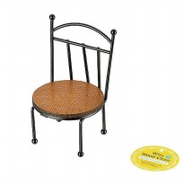 [POP UP IDEA] Tokyo 1 Hiasan Kursi Kecil Round-Wire Wood Chair (172112)