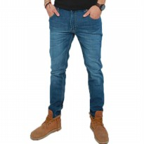 2Nd Red Jeans slim fit Pria/celana jeans slim fit/celana pjg Denim/Celana jeans straight-Biru 133212