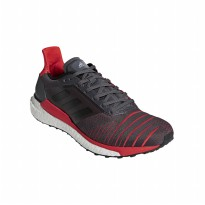 Sepatu Olahraga Gym Fitness Lari Sneakers Adidas Solar Glide Men's Run Shoes - DarkGrey CQ3176