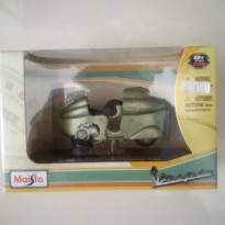 Diecast Vespa Monthlery (1950) MAISTO include Name plate (papan nama)