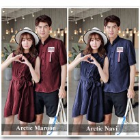 DRESS COUPLE SEPASANG TERMURAH BERKUALITAS | DISKON BUSANA COUPLE TERLENGKAP | BAJU COUPLE DRESS