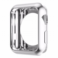 Hoco Electroplating TPU Case for Apple Watch 38mm Series 2 - Silver