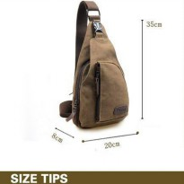 Bodypack Bag Tas Selempang Pria / Men Sling Shoulder Bags P290