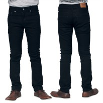 Raindoz Celana Denim Stretch RMDx012 Full Black