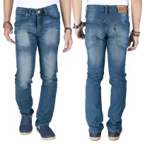 Raindoz Celana Denim Stretch RMDx017 Dauva Blue