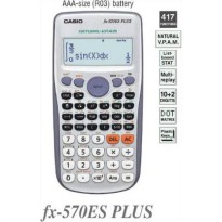 Casio FX 570 ES PLUS - Scientific Kalkulator FX-570 es plus