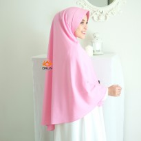 Orlin Khimar Ayra Size XL Mosscrepe Premium by Orlin Hijab Official