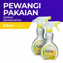 Kispray Botol Segeris 318ml x2