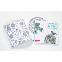(Siap Kirim) DERWENT Colour and Relax: Unwind in the Wilds Colouring Book