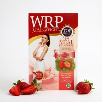 [POP UP PASAR IDEA] WRP MEAL REPLACEMENT STRAWBERRY 324G (6 Sachet)
