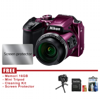 Nikon COOLPIX B500 - UNGU- FREE ACCESSORIES