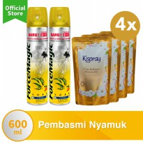 Special Package 2 Force Magic Lemon FREE 4 Kispray Glamorous Gold