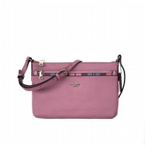 Coach East/West Crossbody With Pop-Up Pouch - Pink