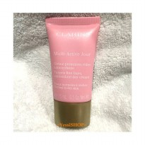 CLARINS MULTI-ACTIVE DAY TARGETS FINE LINES, ANTIOXIDANT DAY CREAM 15ML FOR NORMAL TO DRY SKIN