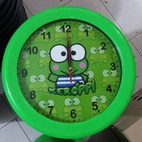 Jam dinding karakter cartoon Keropi 1