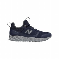 Sepatu Olahraga Lari Trailrun Gym Fitness Sneakers New Balance Fresh Foam Trailbuster M Shoes - Navy MFLTBDVP