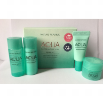 (POP UP AIA) NATURE REPUBLIC Super Aqua Max Trial Kit 4Pcs