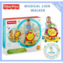 Fisher Price Musical Lion Walker plus bubble