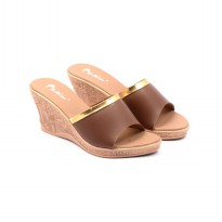 Dr.Kevin Women Wedges Sandals 27345 Brown