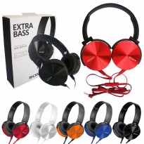 Universal Headset Mdr-xb450ap model Sony Extra Bass Support Handsfree