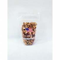 ROASTED ALMOND 250gr / Kacang Almond Panggang In Shell Creamy USA-CALIFORNIA