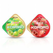 UHA KORORO MIX FLAVOUR STRAWBERRY AND MUSCAT 2 PACK 40 g
