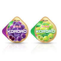 UHA KORORO MIX FLAVOUR GRAPE AND MUSCAT 2 PACK 40 g