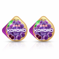 UHA KORORO GRAPE 2 PACK 40 g