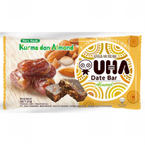 UHA DATE BAR ALMOND
