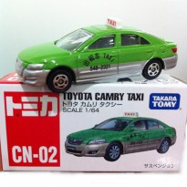 Die Cast Tomica Toyota Camry Taxi CN-02 Special Series Scale 1:64