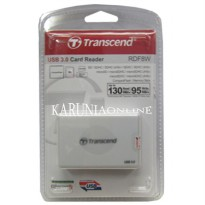 L.I.M.I.T.E.D Card Reader Transcend RDF8 White USB 3.0 All in 1
