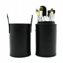 Armando Caruso Cylinder Makeup Brush Set Black