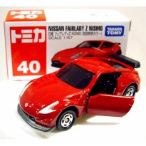 Die Cast Tomica 40 Nissan Fairlady Z Nismo Scale 1:57