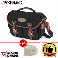 Billingham Hadley Small PRO Black Tan 100% Handmade in England Free Dust Bag GARANSI RESMI