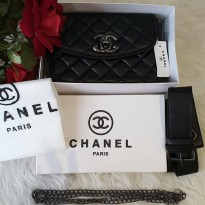 Tas Taste fashion wanita cewek chanel bag 3in1 slingbag waistbag slempang best seller