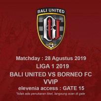 LIGA 1 MATCH2 2019 2019 28 AUG 2019 - VVIP 13