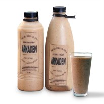 ARKADEN JUS 650 ML JUICE KURUS LANGSING ALAMI HERBAL PELANGSING MURNI JAMU BUAH SLIM BODY SLIMMING