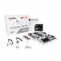 MSI B350 TOMAHAWK ARCTIC AM4 AMD ATX Motherboards - White