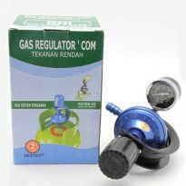 [Limited] Regulator Destec Com.201-m (Pakai Meter)