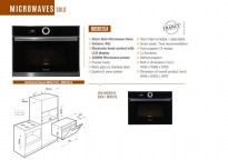 Brandt Microwave solo type BKS6135X MADE IN FRANCE