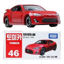 Die Cast Tomica 46 Toyota 86 Scale 1:60